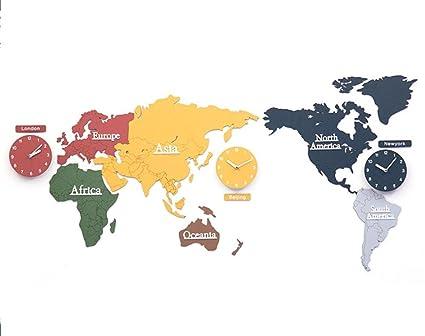 Amazon De Unbekannt Kreativ Zuhause Dekoration Weltkarte Gross