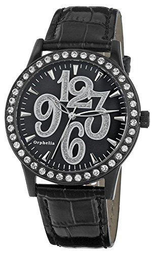 Orphelia OR22170844 - Women's Watch, Leather, Black Color