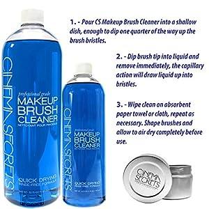 Combo Kit - Cinema Secrets Brush Cleaner 32oz + 16oz Cinema Secrets Brush Cleaner + Free Cinema Secrets TIn for Brush Cleaner ($83 Value)