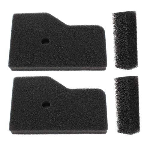 AISEN Pack of 2 Air Outer Filters for 17211-Z07-000 17218-Z07-000 Honda EB2000 EB2000i EU2000 EU2000i