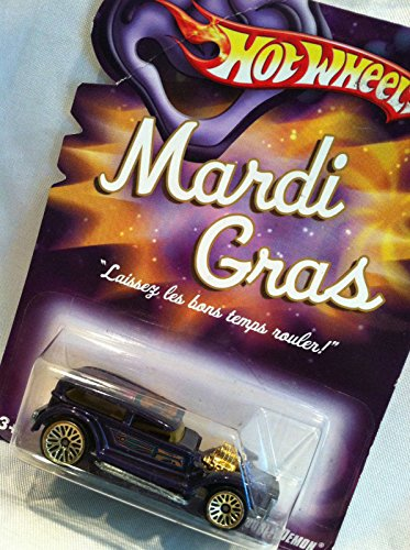 Qiyun Hot Wheels 2007 Mardi Gras Double Demon Collectible Car New in Original Package