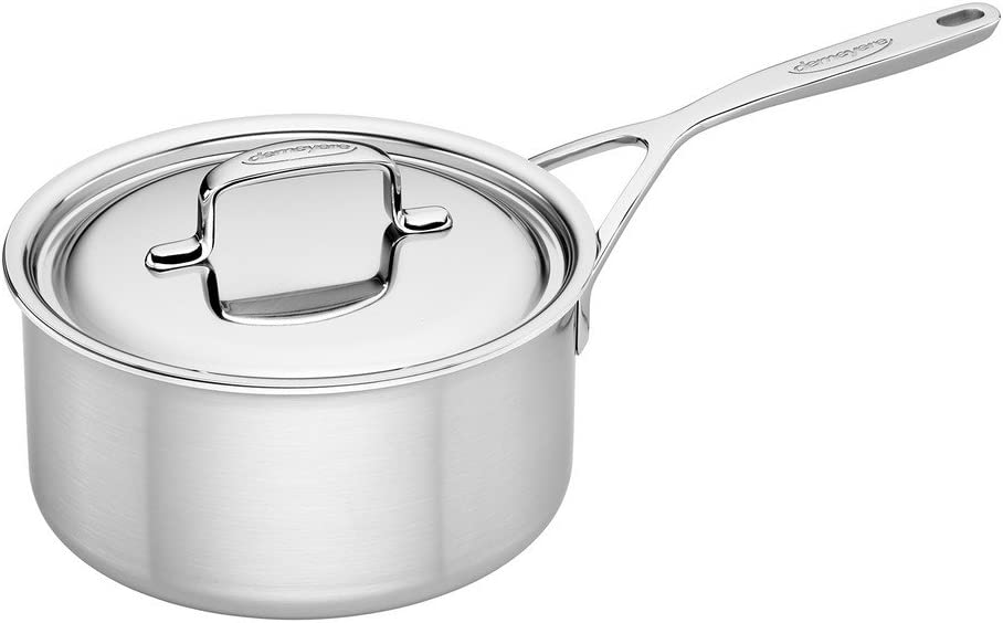 Demeyere 5-Plus Stainless Steel 3-qt Sauce Pan