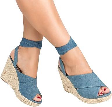 ankle tie open toe espadrilles