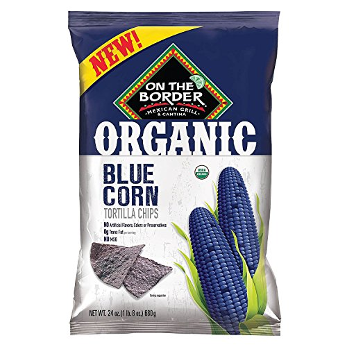 On the border Organic Blue Corn Tortilla Chip, 24 (Foods Blue Corn Tortilla Chips)