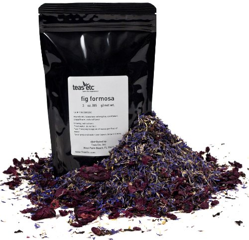 Teas Etc Fig Formosa Loose Leaf Oolong Tea 3 oz. (Pack of 36)
