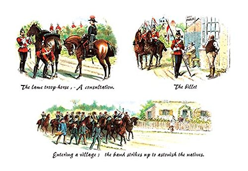 - The Lame Troop-Horse, Billet, and Entering a Village Fine Art Canvas Print (20