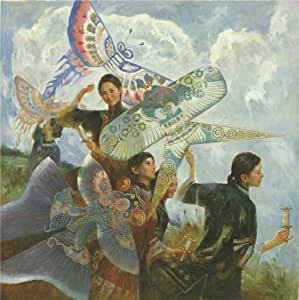 'Chen Yanning,Song of the Wind,about 20th century' oil painting, 30x30 inch / 76x76 cm ,printed on Linen Canvas ,this Reproductions Art Decorative Canvas Prints is perfectly suitalbe for Game Room artwork and Home artwork and Gifts