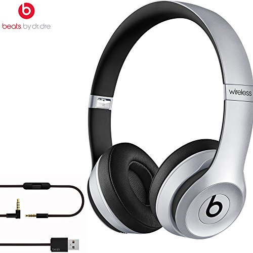Beats By Dre Solo2 Wireless On-Ear Headphone, MHNM2ZM/A - (Certified Refurbished) (Space Gray)