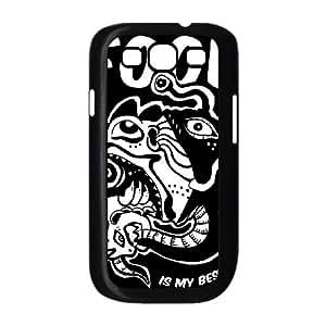 Samsung Galaxy S3 9300 Cell Phone Case Black FOOD IS MY BESTFRIEND SUX_180432