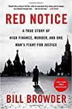 Book cover image for Red Notice: A True Story of High Finance, Murder, and One Man's Fight for Justice