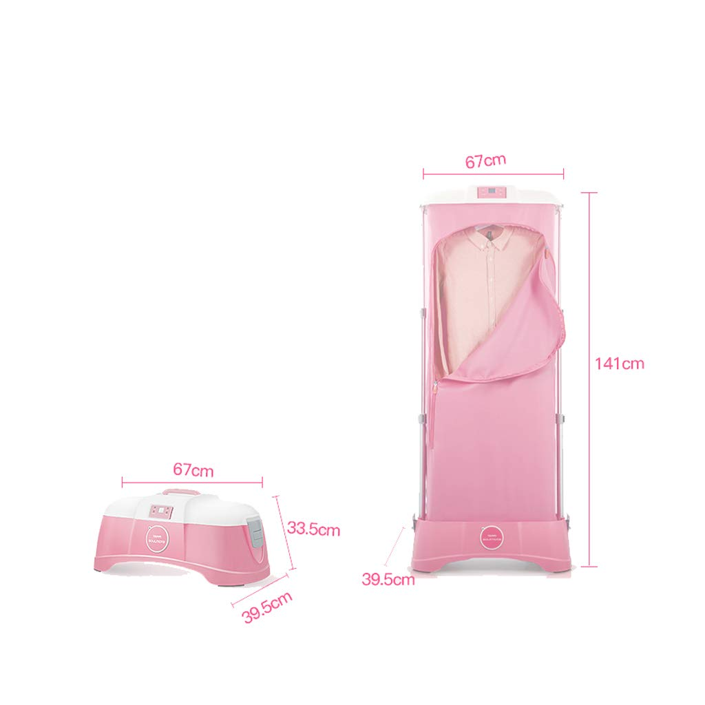 Secador de aire caliente Esterilización de ácaros pequeños Secadores domésticos Secador de ropa silencioso Potencia Ropa de secado rápido Viaje a casa Hotel ...