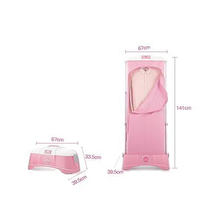Secador de aire caliente Esterilización de ácaros pequeños Secadores domésticos Secador de ropa silencioso Potencia Ropa