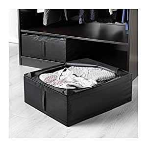 Ikea Skubb Underbed Storage Box, Black, 2 Pack