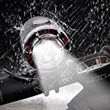 ROOKLY USB Rechargeable Bike Light/ 1200 Lumens Super Bright Waterproof LED Bicycle Headlight