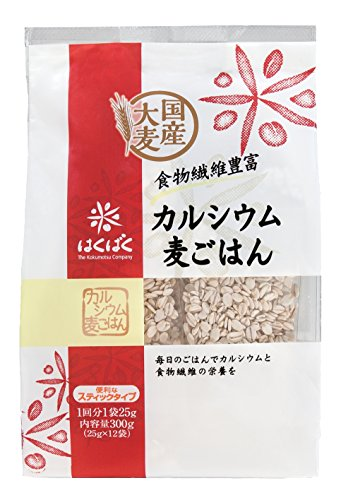 Hakubaku calcium barley rice 25g (12 bags) X12 pieces by Hakubaku