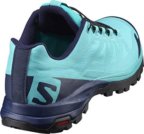 Outpath W - Chaussures randonnée femme Blue Bird / Evening Blue / Black