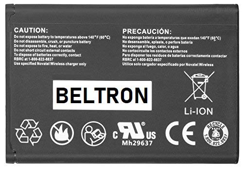 - New Extended Replacement Battery Novatel Jetpack MiFi 4620L / 4620LE Mobile Hotspot P/N: 40123112-001