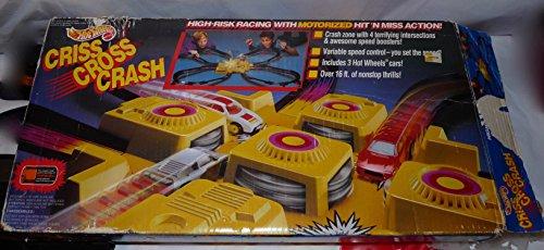 Hot Wheels Criss Cross Crash Playset 1992