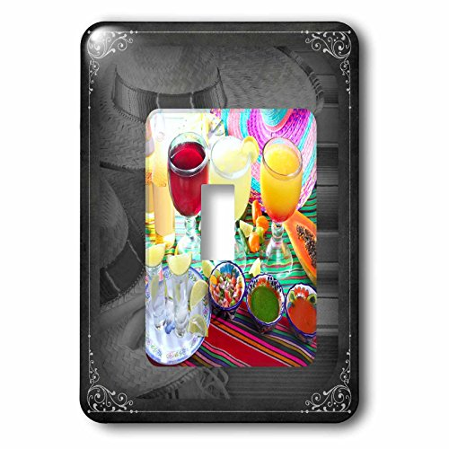 3dRose lsp_99468_1 Drinks - Mexican Style - Single Toggle Switch by 3dRose