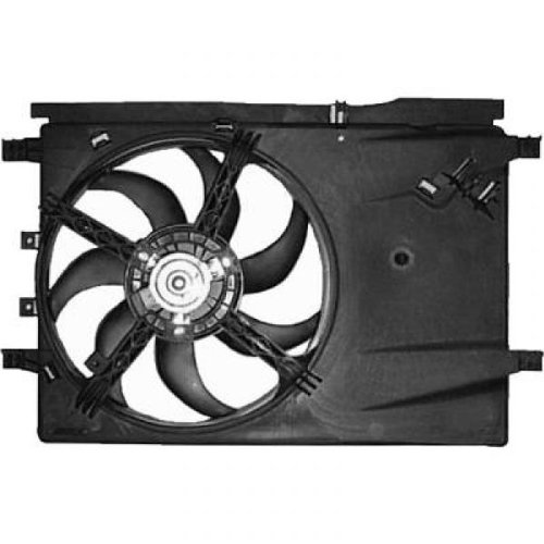 DIEDERICHS 8181406 Radiator Fan:
