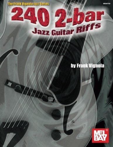 Mel Bay 240 2-Bar Jazz Guitar Riffs