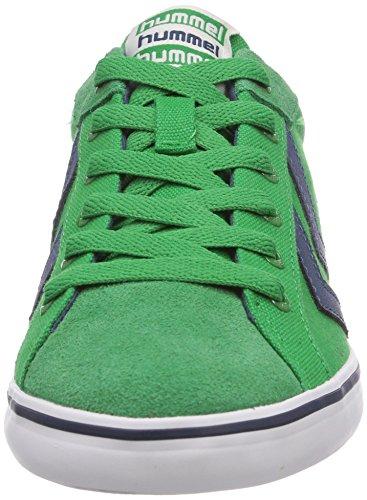 hummel HUMMEL DEUCE COURT SUMMER - zapatilla deportiva de lona unisex verde - Grün (Fern Green 6029)