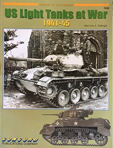 U.S. Light Tanks at War: 1941-1945 (Armor at War)