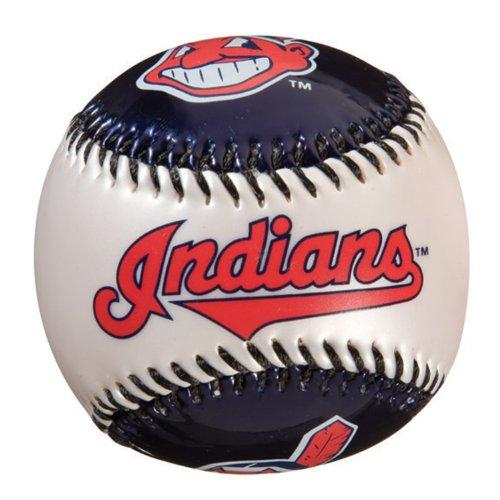 Franklin Sports MLB Cleveland Indians Team Softstrike - Indians Logo Baseball