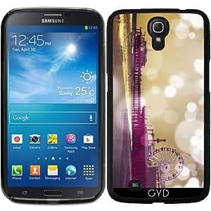 Funda para Samsung Galaxy Mega 6.3 GT-I9205 - Muelle Bokeh Púrpura by Christine aka stine1
