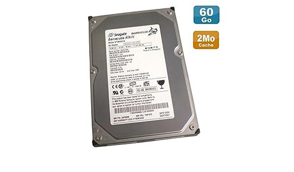 Disco Duro 60 GB IDE ATA 3.5 Seagate Barracuda ATA IV st360021 a ...