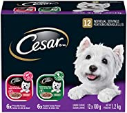 CESAR Filets In Sauce: 6 Roasted Turkey Flavour And 6 Prime Rib Flavour 12x100g