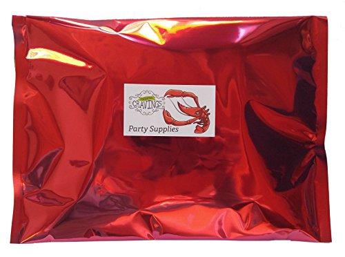Lobster Bibs, Seafood Cracker Sheller Set, Hand Towels, and Lemon Juice Filter Nets (8 Each Item ...