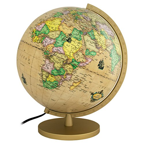 Delicate 13 inch illuminated globe by getlifebasics earth and delicate 13 inch illuminated globe by getlifebasics earth and star constellation sphere night light for fandeluxe PDF