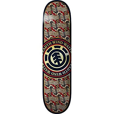 Element Origins Seal Skateboard Deck -7.6 - Assembled AS Complete Skateboard : Sports & Outdoors