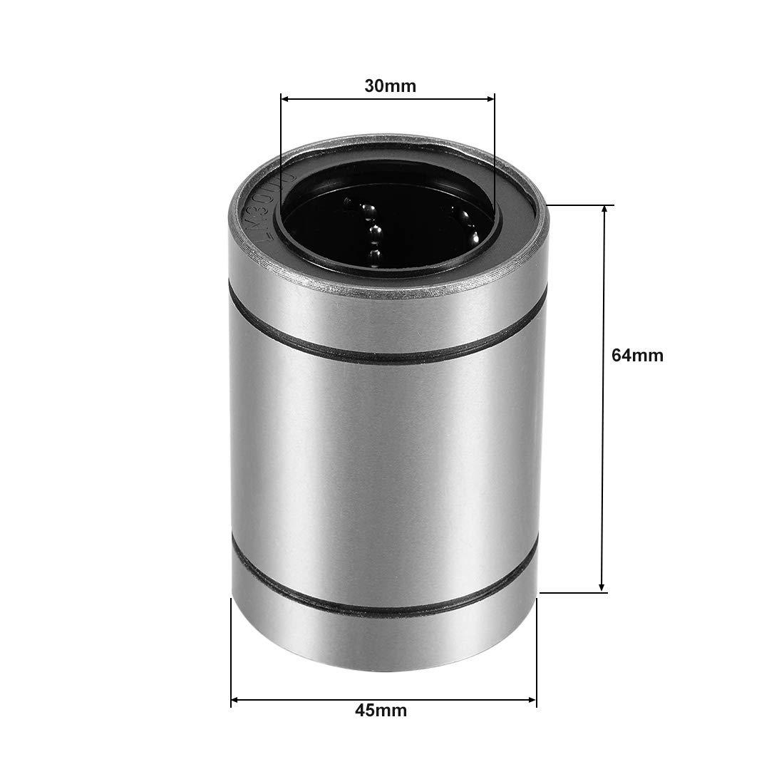 paquete de 10 con forma de seta aplanada 2.90 cm de di/ámetro Basics Pomo de armario negro liso