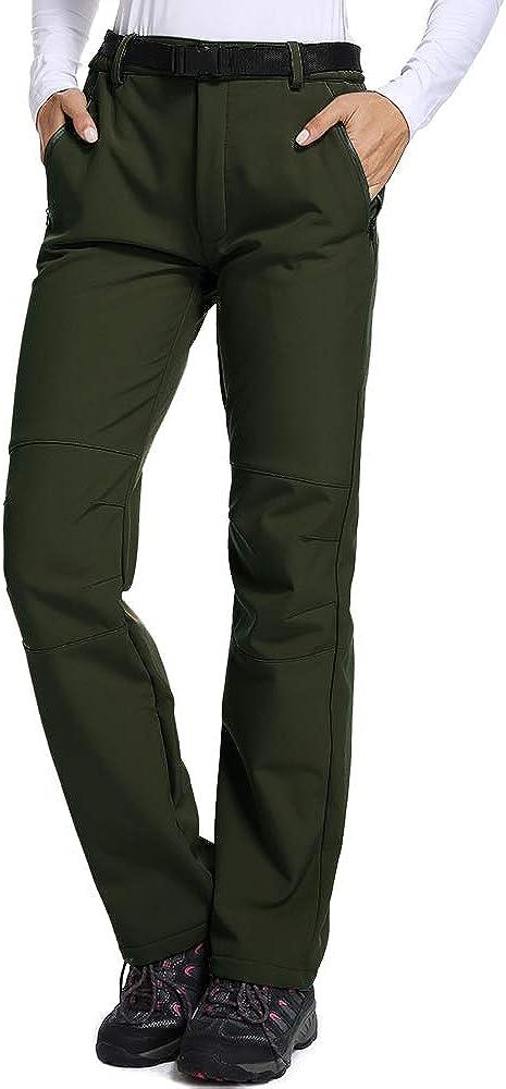 Nonwe Womens Winter Mountain Fleece Hiking Sweat Pants Deep Gray L//30.5 Inseam