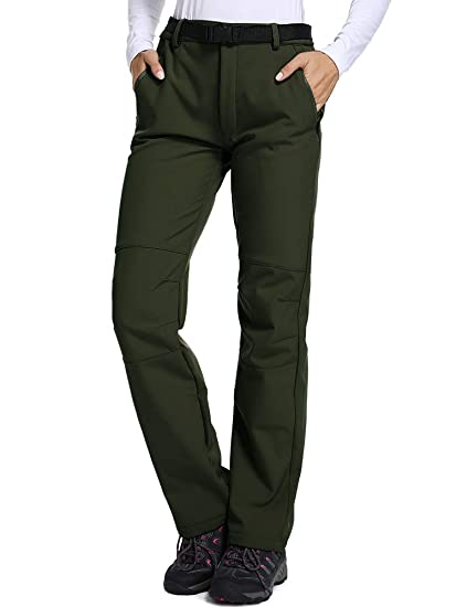 a573124576e63 Jessie Kidden Softshell Trousers Womens Winter Fleece Lined Insulated Trousers  Waterproof Hiking Pants Outdoor Camping Trouser #801: Amazon.co.uk: Clothing