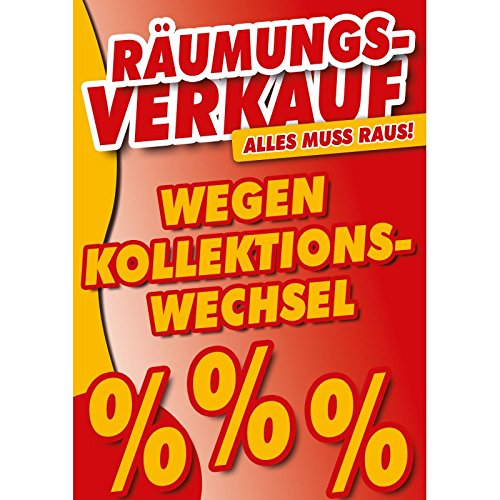 Cartel - venta de liquidación a causa de colección de ...