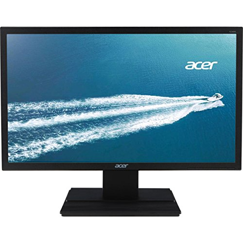 Acer LCD Widescreen Monitor, 24'' Display , 60 Hz ,Anti-Glare, Screen, Black, LED (Certified Refurbished) by Acer