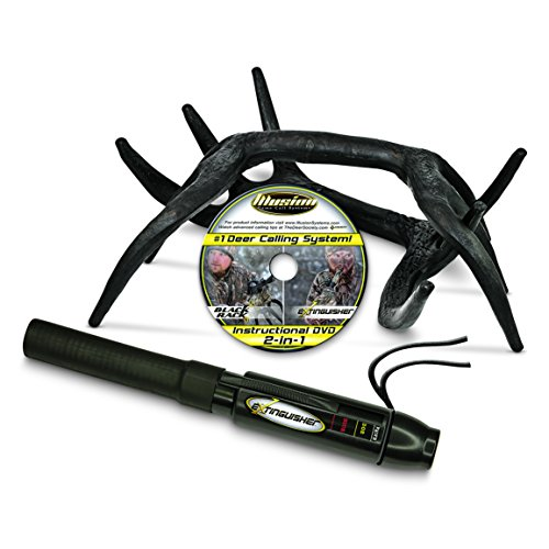Illusion Game Call Systems Extinguisher/Black Rack Deer Rattling System (Deer Call)