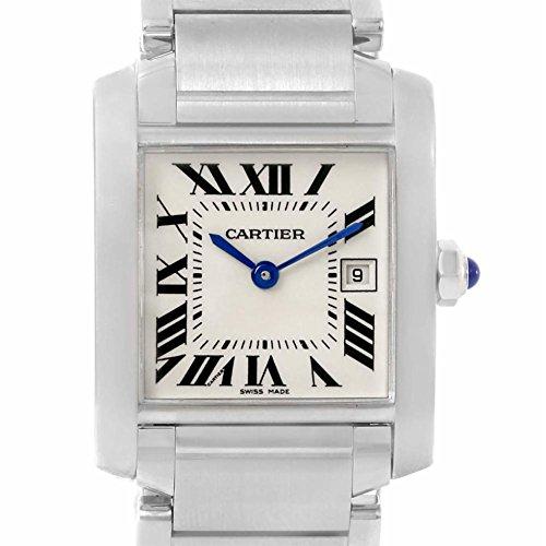 Cartier Tank Francaise quartz female Watch W51011Q3 (Certified Pre-owned) (Watch Tank Cartier Women)