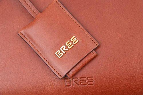 Bree Chicago 4 - Bolso bandolera Mujer Gris - Grau (teak 830)