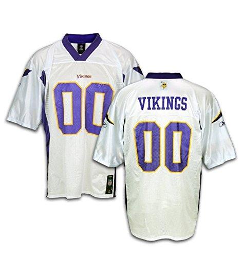 Minnesota Vikings NFL Men's Mid Tier Team Jersey, White – Sports Center Store