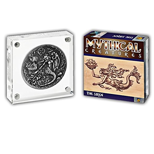 Mythical Creatures 2018 The Siren - Monedero de plata con ...