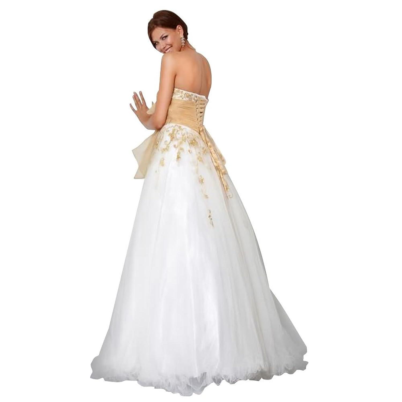 GEORGE BRIDE Ball Gown Sweetheart Floor-Length Tulle Wedding Dress