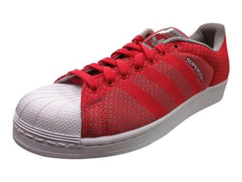 Adidas Mænds Superstjerne Væve Pack Rød / Hvid / Sort S77929 (størrelse: 11) yVTPKk3i1