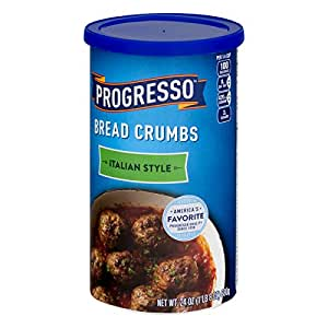Progresso Italian Style Bread Crumbs 24 oz Canister