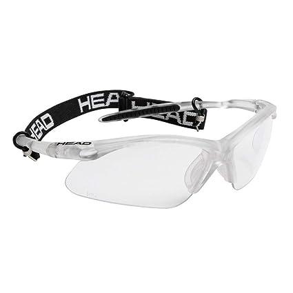 Amazon.com: Head Icon Pro anteojos de racquetball, Negro ...