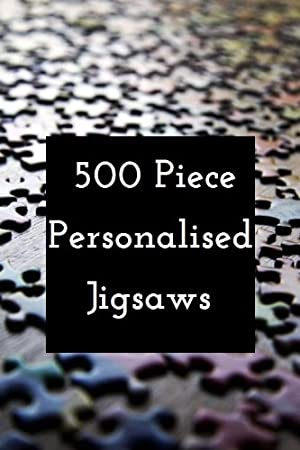 500 piece personalised jigsaw puzzles can include collage pictures