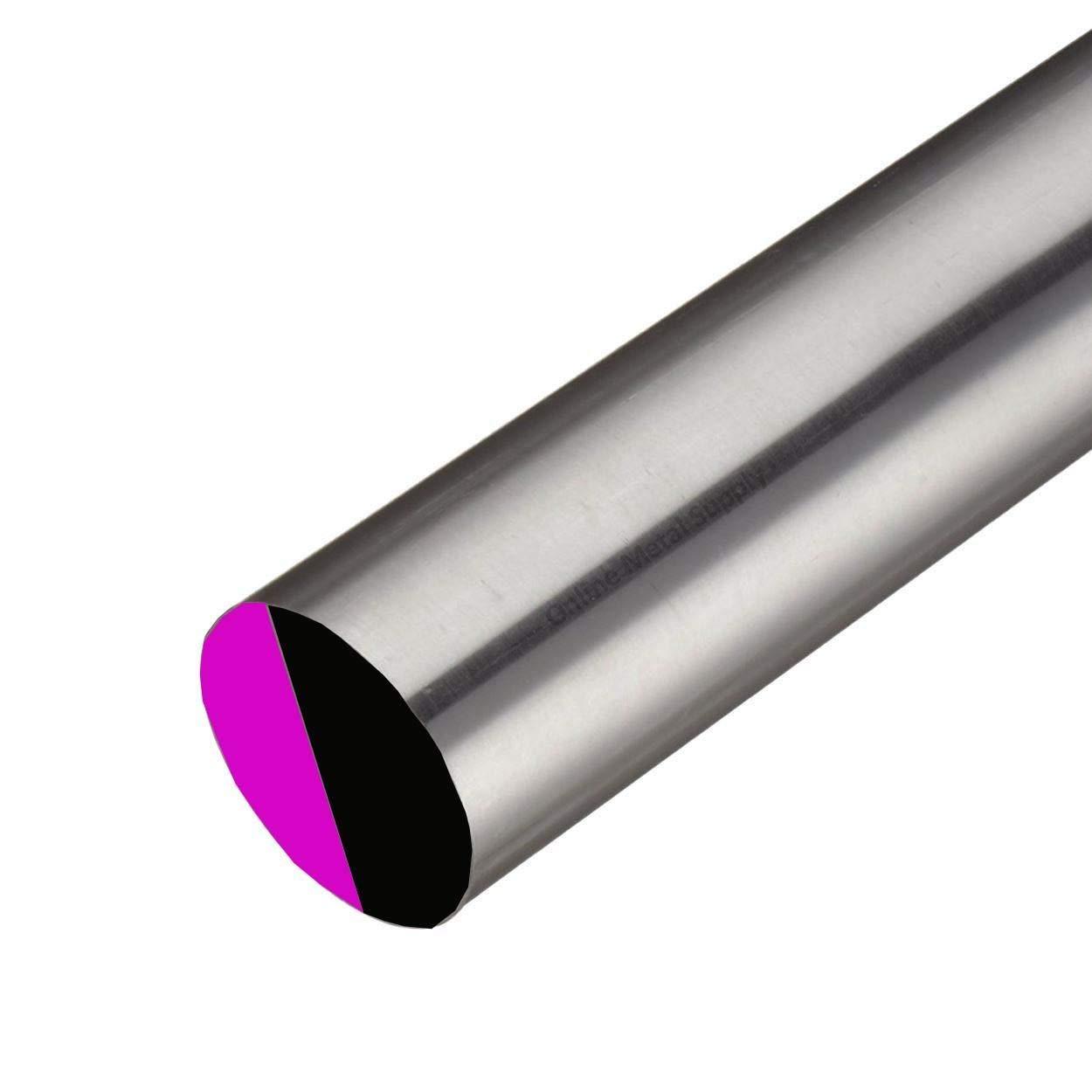 Online Metal Supply Alloy 625 Nickel Round Rod, 2.250 (2-1/4 inch) x 10 inches by Online Metal Supply